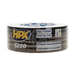 HPX Cloth Tape Zwart 25mtr x 50m