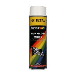 Motip Rallye – Wit hoogglans – 500ml
