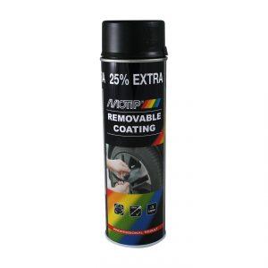 Motip Removable Coating – Zwart mat – 500ml