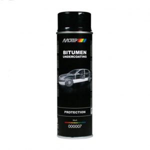 Motip bitumen undercoating – spray 500ml.