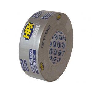 HPX Cloth Tape Zilver 50mtr x 50