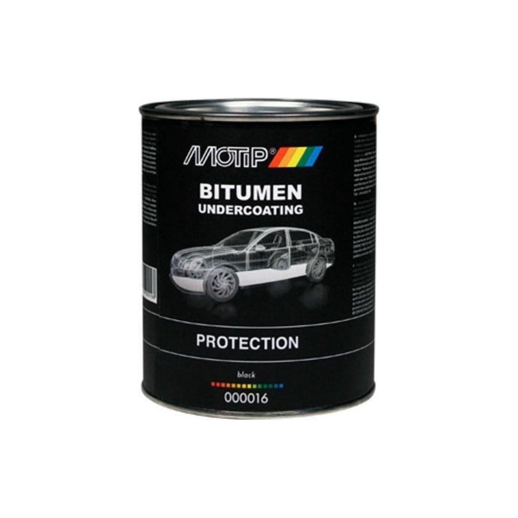Motip bitumen undercoating kwastblik 1,3kg