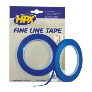 HPX Fine Line Tape 9mm x 33mtr