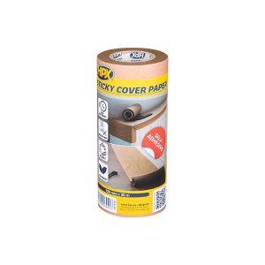 Zelfklevend afdekpapier – 150mm x 30m